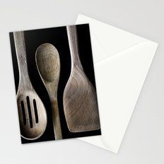 Wooden Kitchen Utensils Stationery Cards