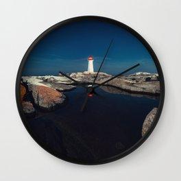 Reflecting Pool Wall Clock