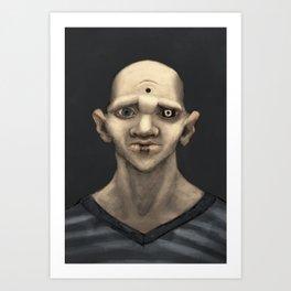 The Demonic Realm Art Print