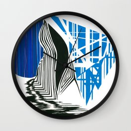 In the Land of Water Nymphs Wall Clock