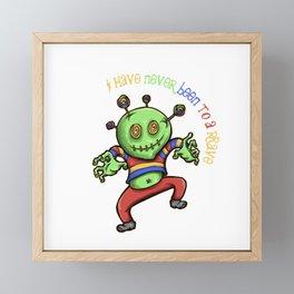 Professional Raver Framed Mini Art Print