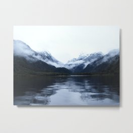 Boating in Taiparariki (Doubtful Sound) 2 Metal Print