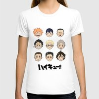 haikyuu T-shirts featuring Haikyuu!! by parkers