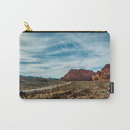 """Between Here And There"" (Valley of Fire; Nevada) Carry-All Pouch"