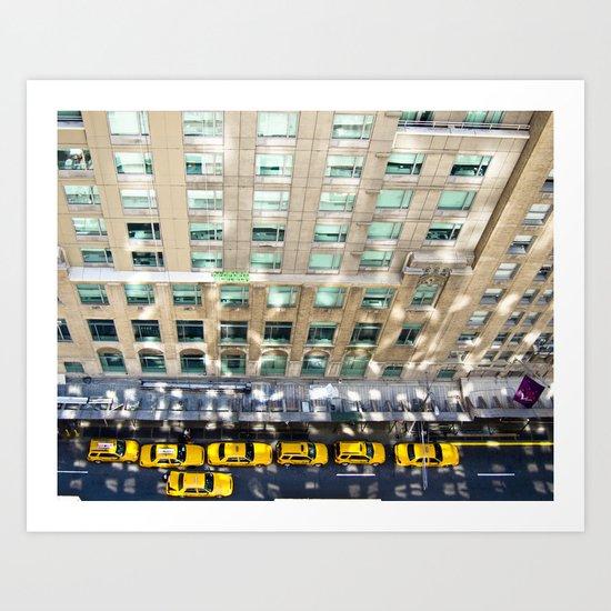 Above the Waldorf Art Print