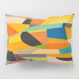 Otto Freundlich German Untitled, 1930–1935 Pastel Geometric Colorful Art Pillow Sham