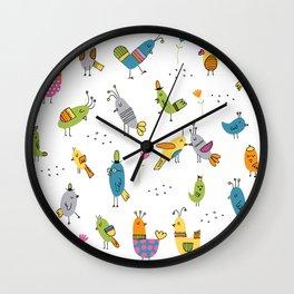 Hen House! Wall Clock