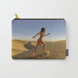 0811 Sandy Dune Nude | The Run Carry-All Pouch