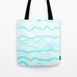 Haze Aqua Tote Bag
