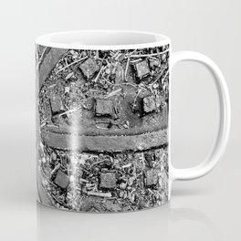 High Contrast Manhole Cover Coffee Mug