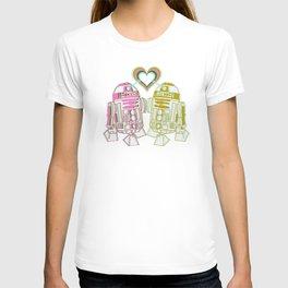 R2D2 DROID LOVE T-shirt