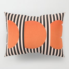 Abstraction_SUNSET_LINE_ART_Minimalism_001 Pillow Sham