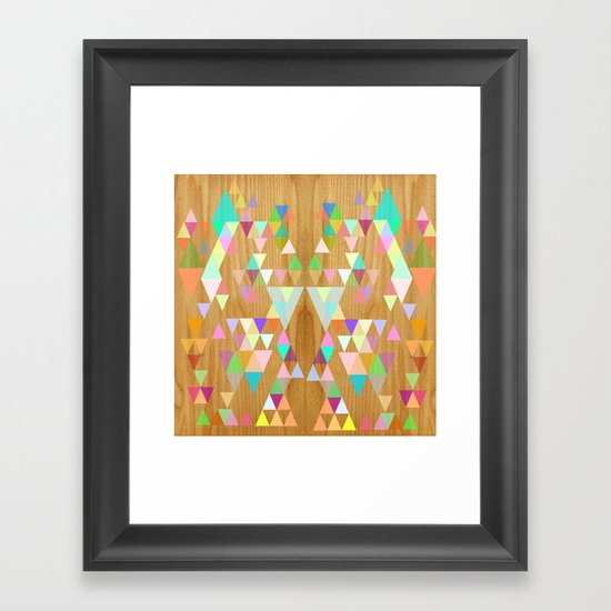Things fall into place Framed Art Print