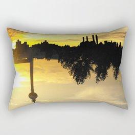 Yellow Skies - Upside Up VII Rectangular Pillow