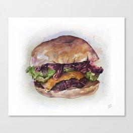 #Foodporn - Burgerz Canvas Print