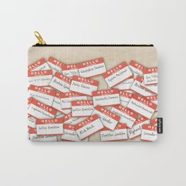 PSYCH.. GUS FUNNY NAMES.. Carry-All Pouch