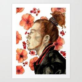 floral no. 2 Art Print