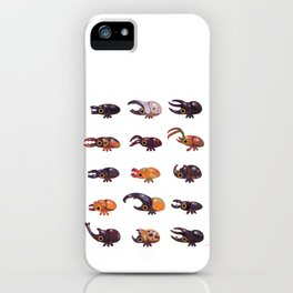 Rhino and Stag iPhone Case