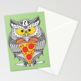 The Last Slice Stationery Cards