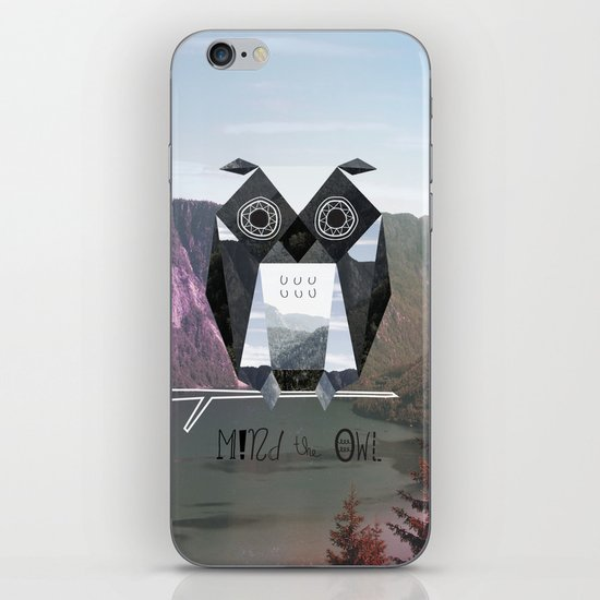 Mind the Owl! iPhone & iPod Skin
