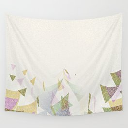 #Retro flying  #triangles Wall Tapestry