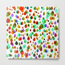 Little drops Metal Print