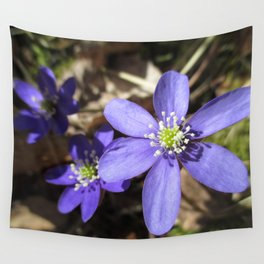 Wild and Blue Wall Tapestry