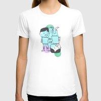 best friends T-shirts featuring Best Friends by Silva Ware by Walter Silva