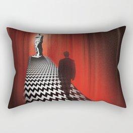 Twin peaks firewalk with me art Rectangular Pillow