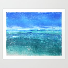 turquoise oceanscape
