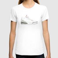 air jordan T-shirts featuring Air Jordan 3 Retro 88 by Ivana Citakovic