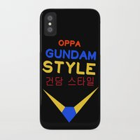 gundam iPhone & iPod Cases featuring Gundam Style by Joynisha Sumpter