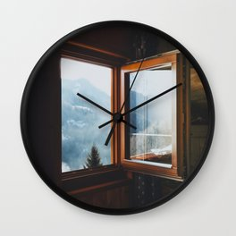 Dolomite Cabin Wall Clock