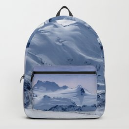 Snowy Mountains and Glaciers Backpack
