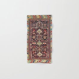 Akstafa Southeast Caucasus Niche Rug Print Hand & Bath Towel