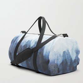 Indigo watercolor 2 Duffle Bag