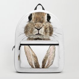 cute innocent rabbit Backpack