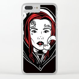 Bad Habits Clear iPhone Case