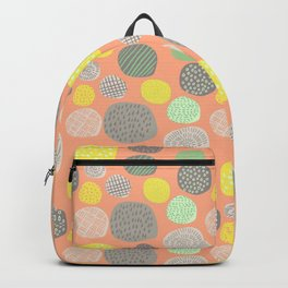 Abstract Multi-colored Circles Backpack