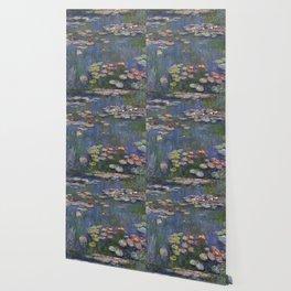 Water Lilies (Nymphéas), c.1916 Art, Monet Wallpaper