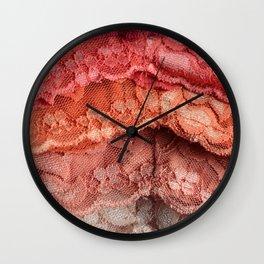 Rainbow Lace Wall Clock