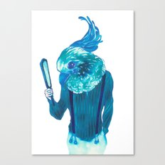 Baby Blue #1 Canvas Print