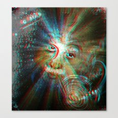 3d Theory Canvas Print