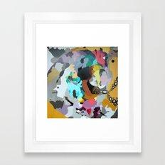 It hurts Framed Art Print