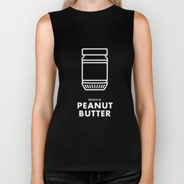 Believe in Peanut Butter Biker Tank