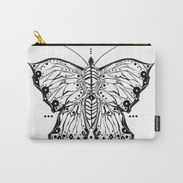 Tribal Butterfly Carry-All Pouch