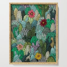 Cactus Collection Serving Tray