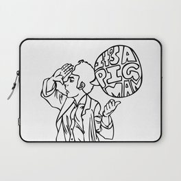 Pig Man Laptop Sleeve
