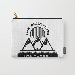 The Mountains Carry-All Pouch