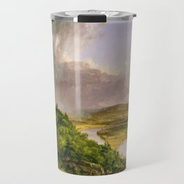 The Oxbow (Connecticut River near Northampton) by Thomas Cole Travel Mug